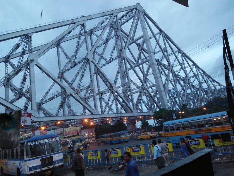 Ponte de Howrah imagens de stock royalty free