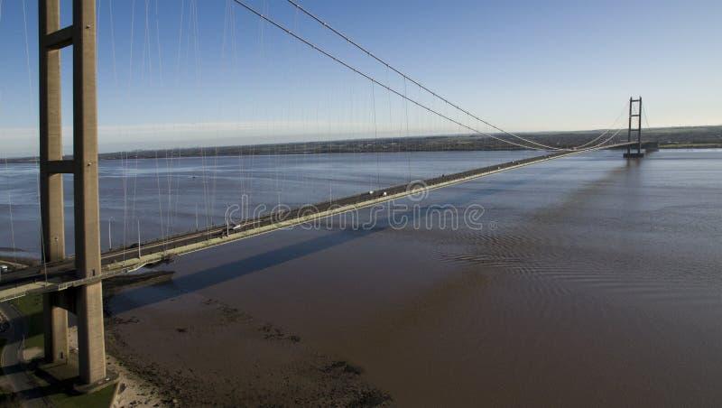 A ponte de Humber, Kingston em cima da casca imagem de stock royalty free
