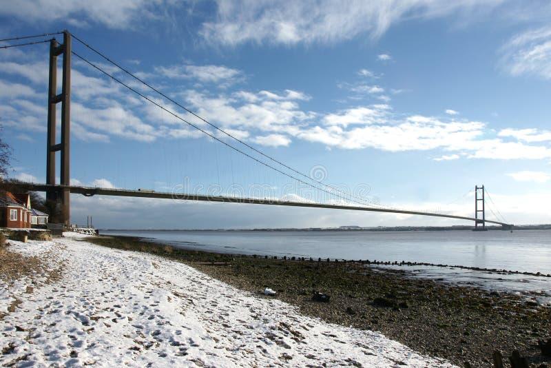 Ponte de Humber, Kingston em cima da casca fotos de stock royalty free