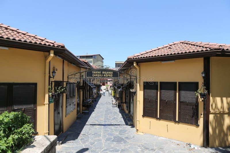 Ponte de Irgandi na cidade de Bursa fotos de stock