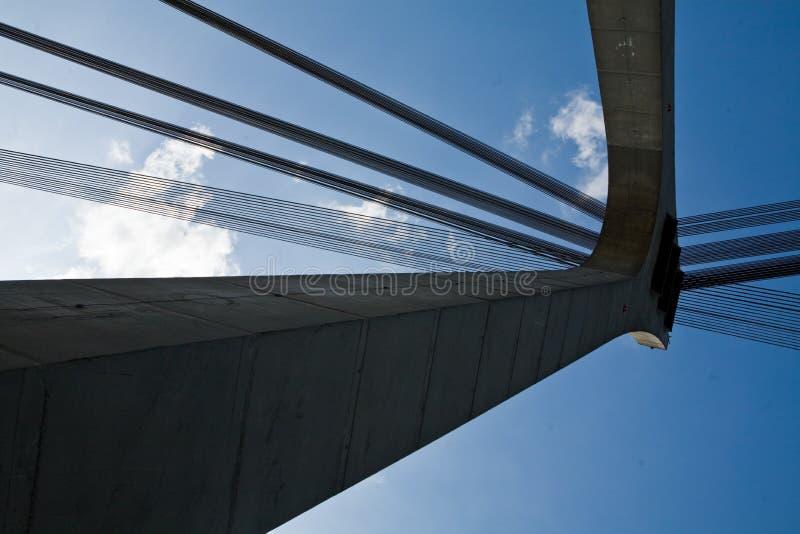 Ponte de Kiev foto de stock