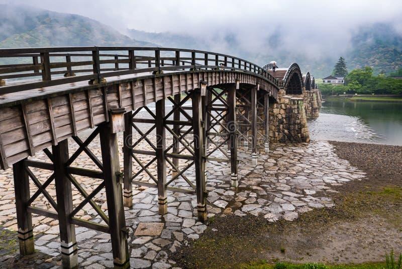 Ponte de Kintai foto de stock
