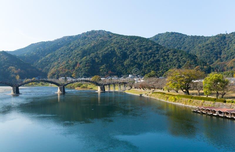 Ponte de Kintai em japão fotos de stock