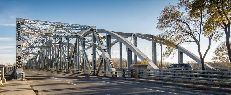Ponte de Lachapelle de Laval Quebec fotografia de stock