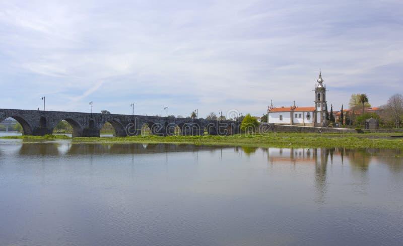 Ponte de Lima, iglesia imagenes de archivo