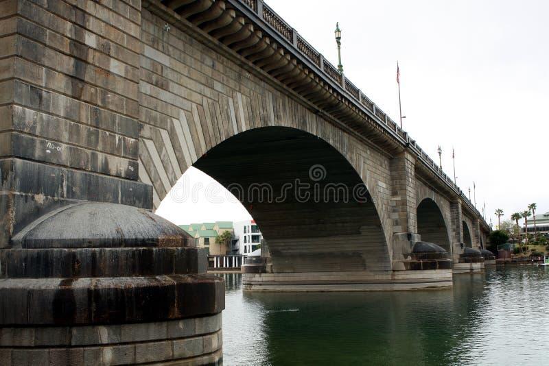 Ponte de Londres em Lake Havasu fotografia de stock