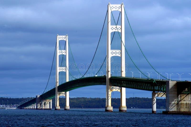 Ponte de Mackinac imagens de stock