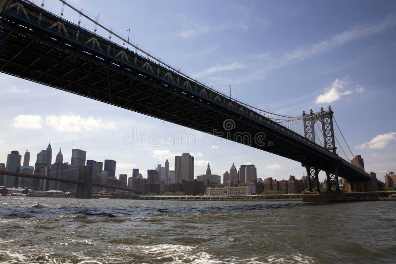 Download Ponte de Manhattan foto de stock. Imagem de negócio, império - 10050662