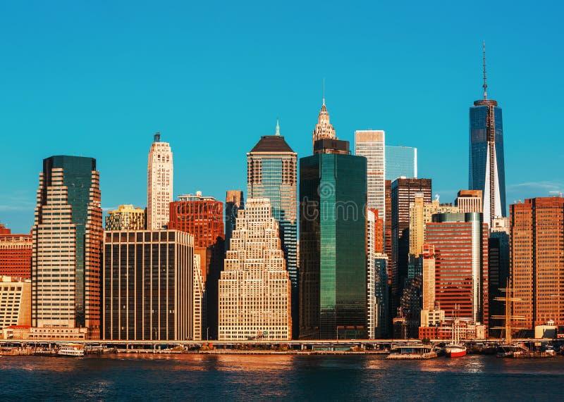Ponte de Manhattan e de Brooklyn imagem de stock royalty free