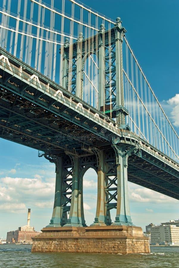 Ponte de Manhattan em New York City fotos de stock royalty free