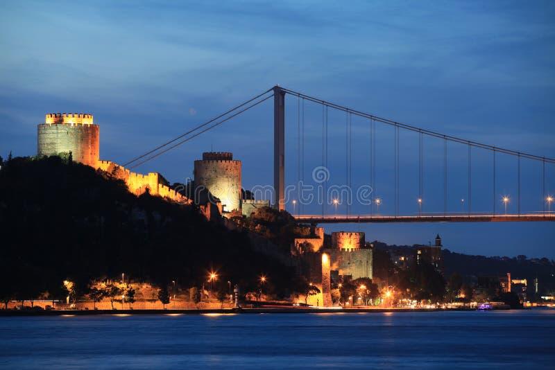 Ponte de Mehmed da sultão de Fatih imagem de stock royalty free