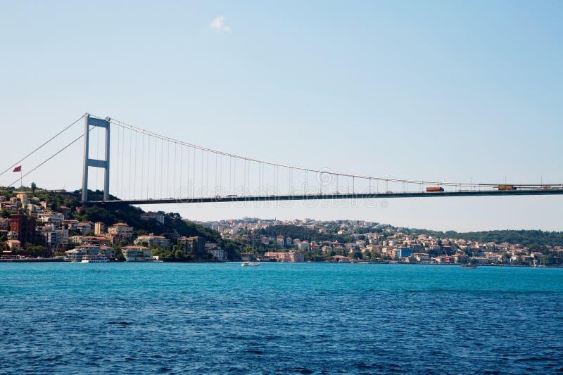 Ponte de Mehmet da sultão de Fatih foto de stock