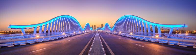 Ponte de Meydan foto de stock royalty free