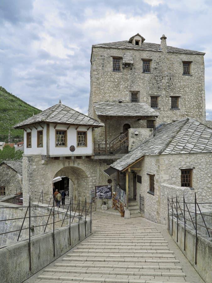 Ponte de Mostar, Mostar, Bósnia e Herzegovina fotos de stock royalty free