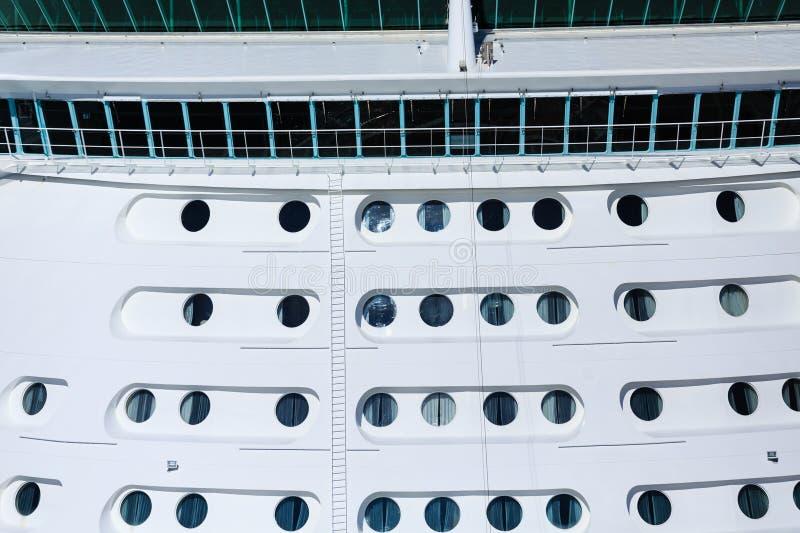 Ponte de navios e muitas vigias fotos de stock