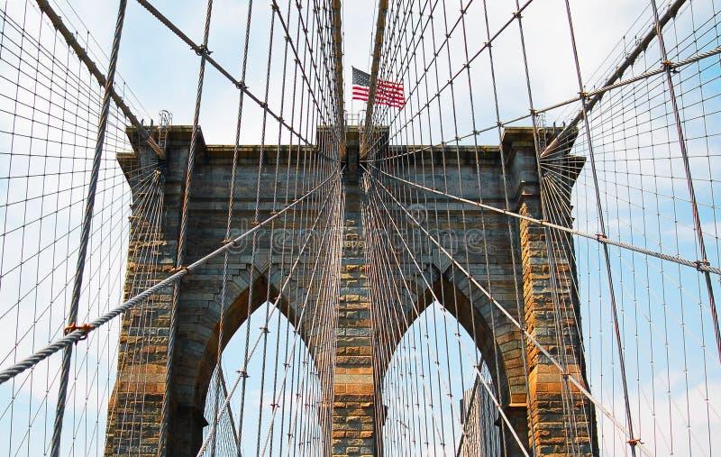 Ponte de New York Brooklyn imagem de stock royalty free
