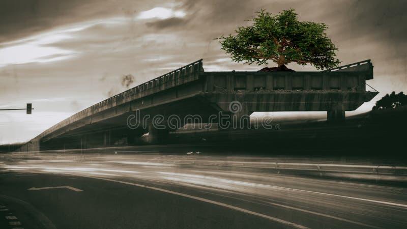 Ponte de Oncrete foto de stock royalty free