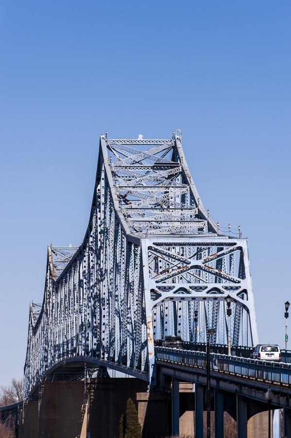Ponte de Owensboro - o Rio Ohio, Kentucky & Indiana fotografia de stock royalty free