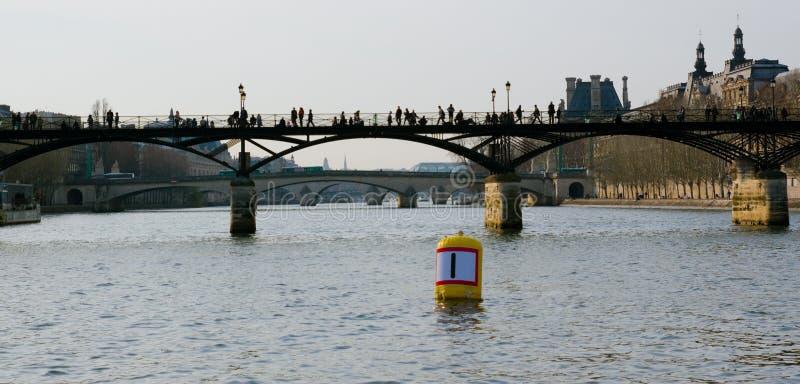 Ponte de Paris foto de stock