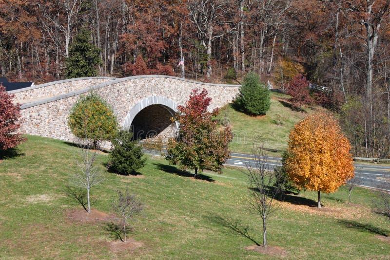 Ponte de pedra Elíptico-Arqueada fotografia de stock royalty free