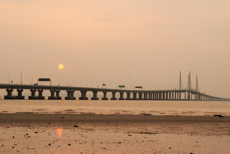 Ponte de Penang ?a fotos de stock