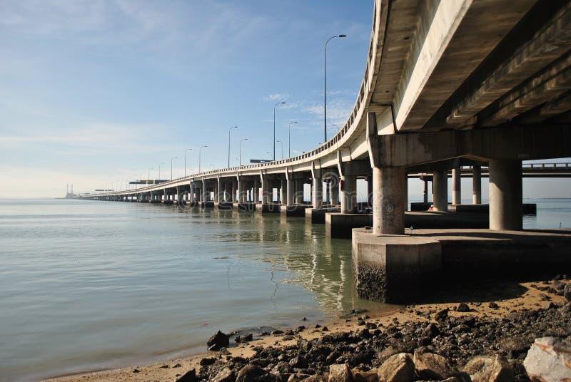 Ponte de Penang imagens de stock