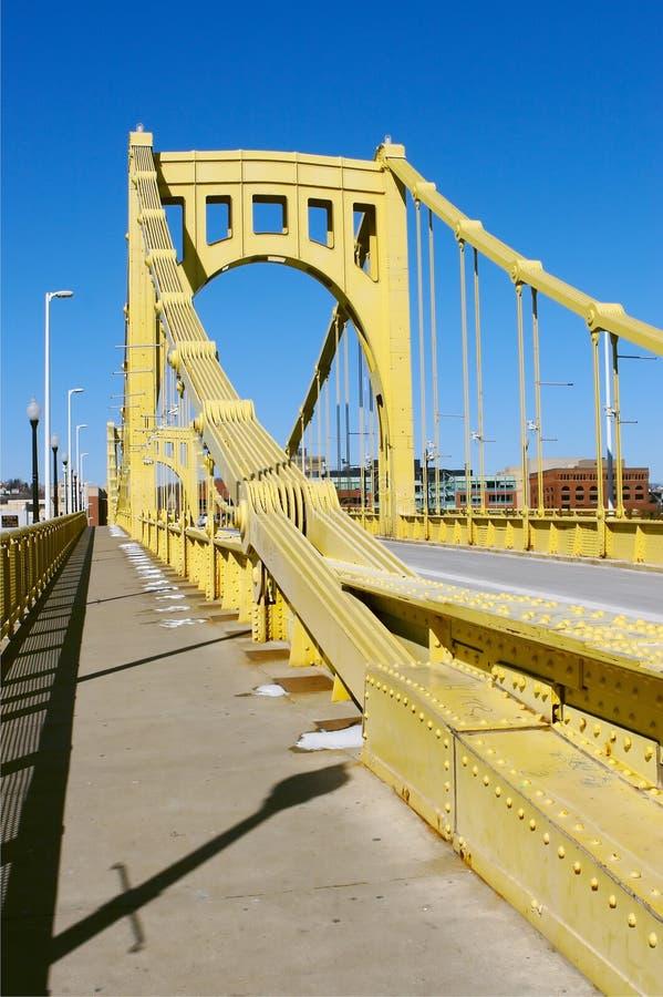 Download Ponte de Pittsburgh foto de stock. Imagem de aço, amarelo - 540280