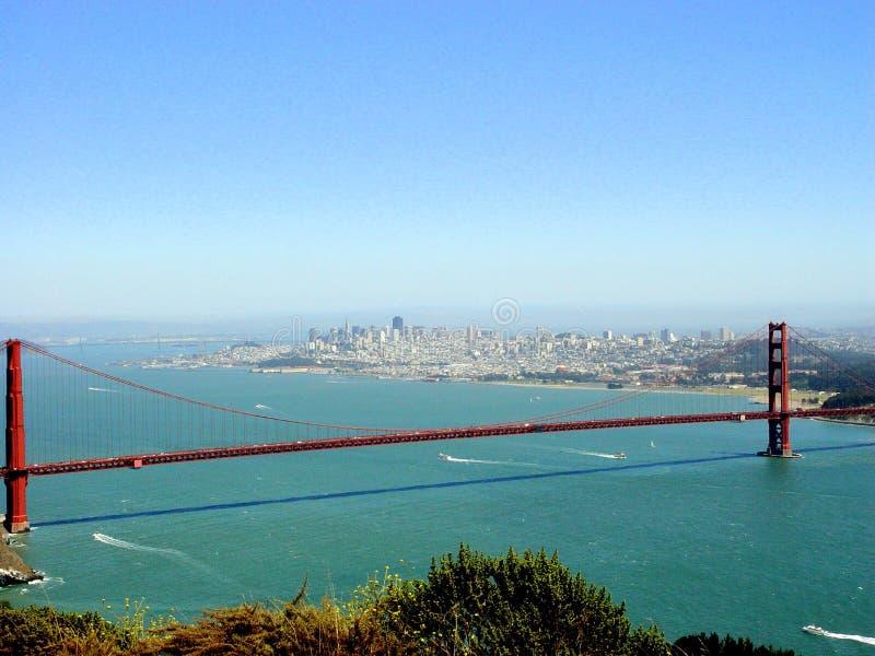 Ponte de porta dourada em San Francisco foto de stock royalty free
