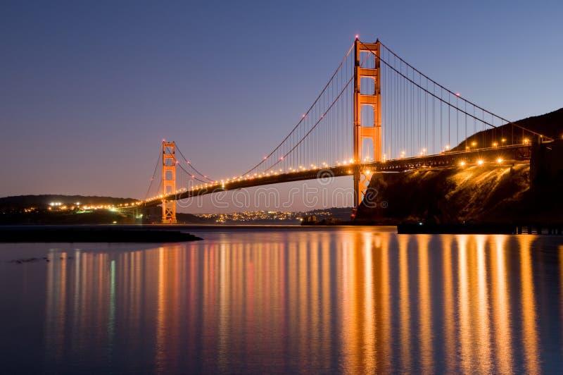 Ponte de porta dourada, San Francisco foto de stock royalty free