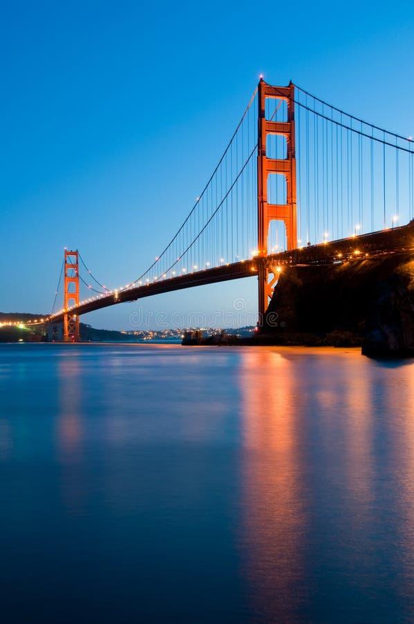 Ponte de porta dourada, San Francisco foto de stock