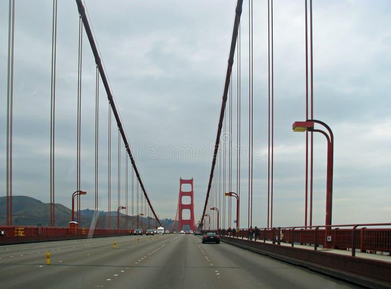 Ponte de porta dourada, San Francisco, Califórnia foto de stock royalty free
