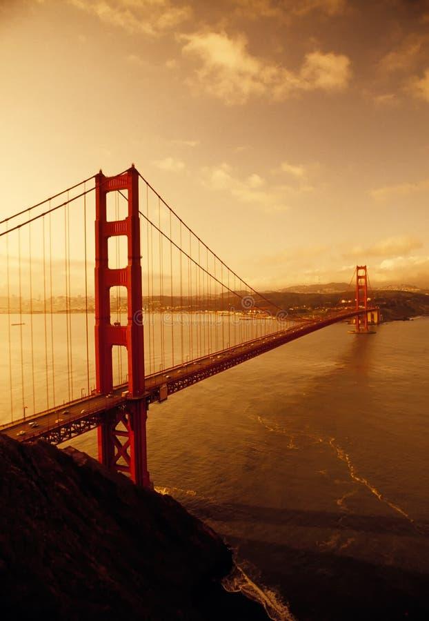 Ponte de porta dourada, San Francisco, Califórnia fotos de stock royalty free