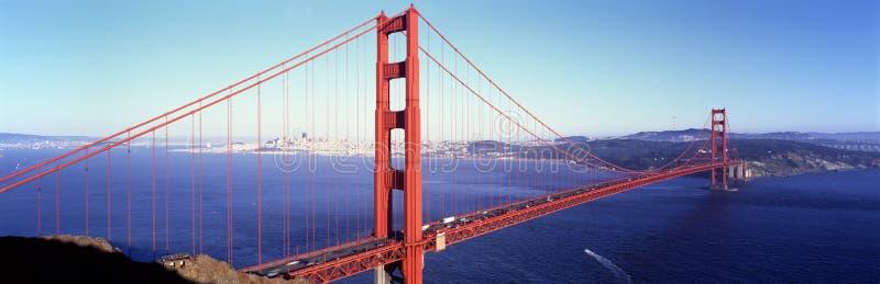 Ponte de porta dourada, San Francisco, Califórnia, EUA imagens de stock