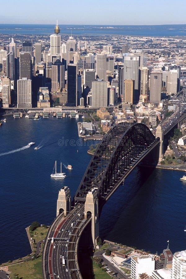 Ponte de porto de Sydney foto de stock royalty free
