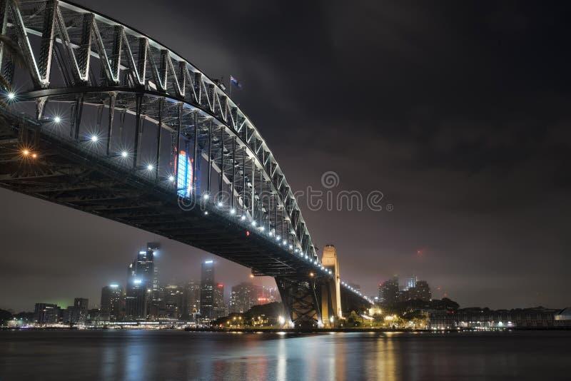 A ponte de porto de Sydney imagem de stock royalty free