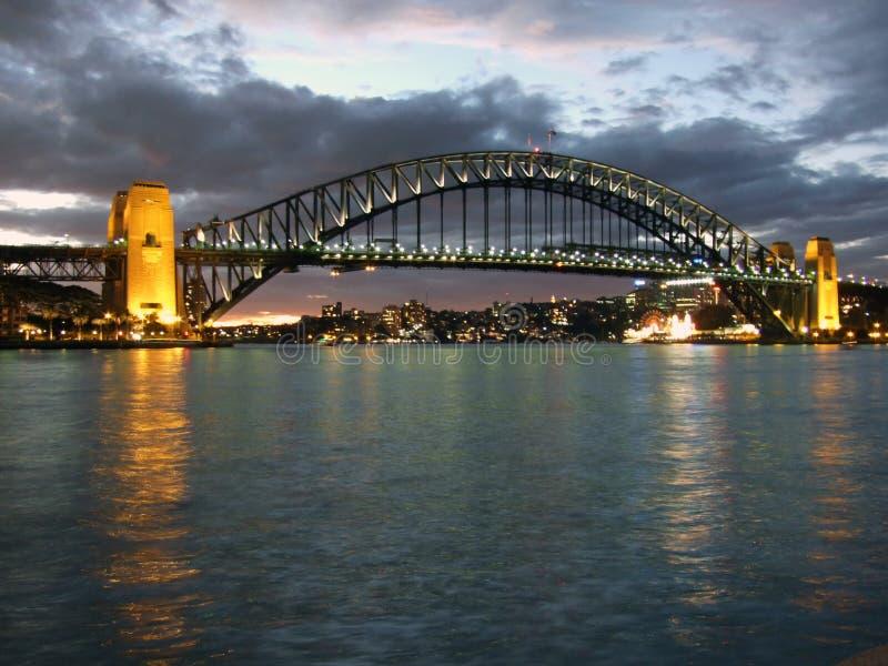 Sydney Harbour Bridge imagem de stock