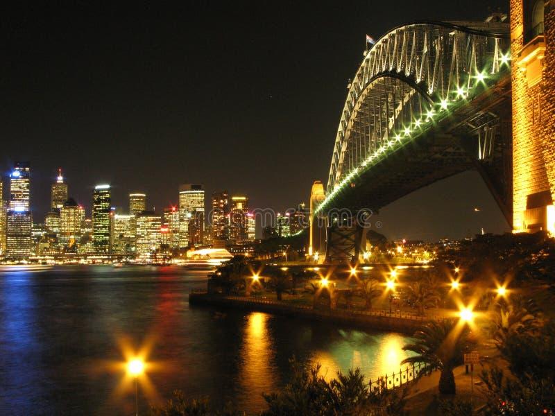 Ponte de porto de Sydney - Sydney, Austrália fotografia de stock