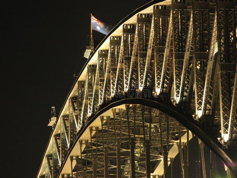 Ponte de porto de Sydney - Sydney, Austrália imagens de stock royalty free