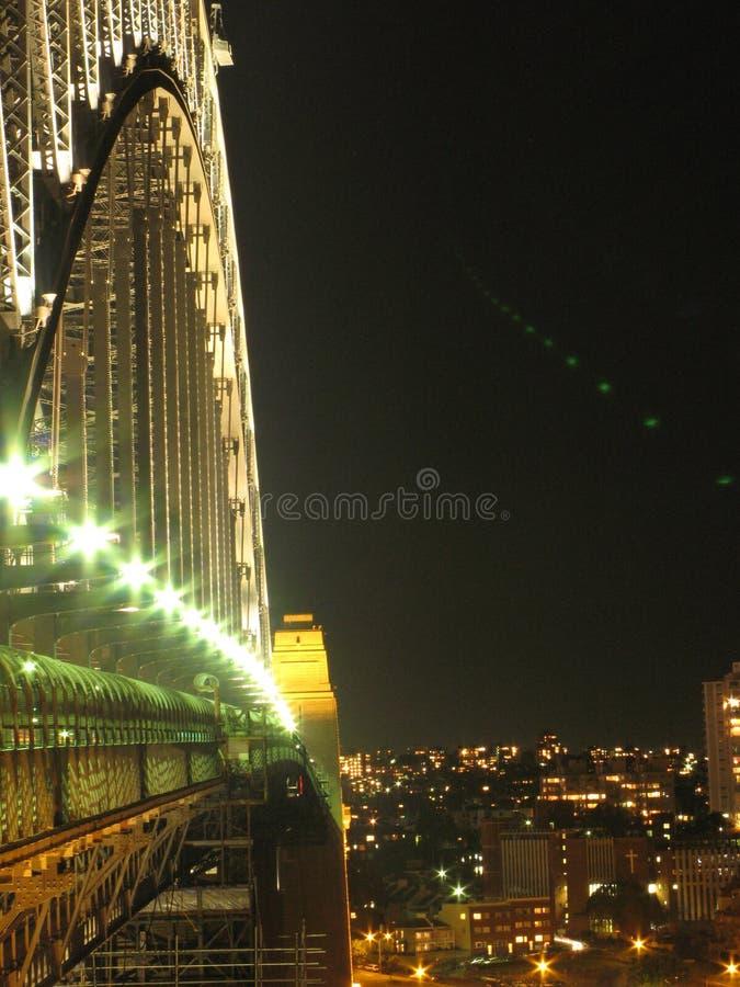 Ponte de porto de Sydney - Sydney, Austrália foto de stock royalty free