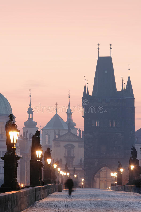 Ponte de Praga Charles fotos de stock royalty free