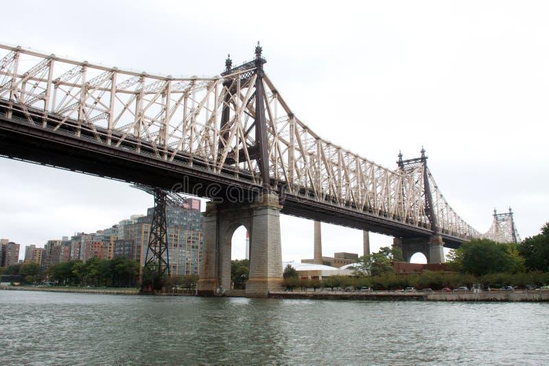 Ponte de Queensboro, NYC fotos de stock royalty free