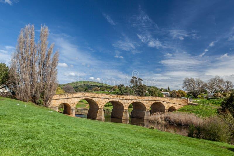 Ponte de Richmond, Tasmânia, Austrália fotos de stock royalty free