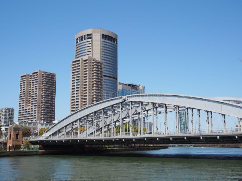 Ponte de Sakuranomiya fotografia de stock