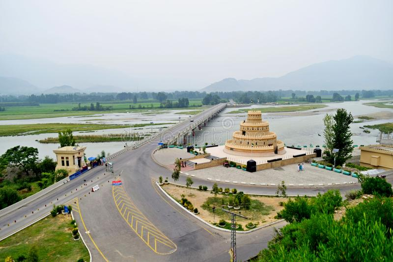 Ponte de Shamozai imagem de stock royalty free