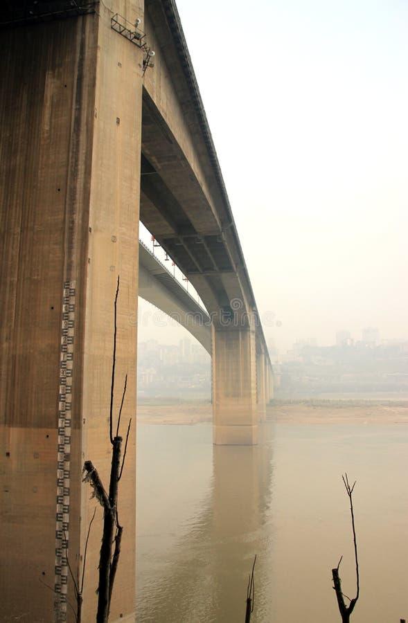 A ponte de Shibanpo em Chongqing fotografia de stock