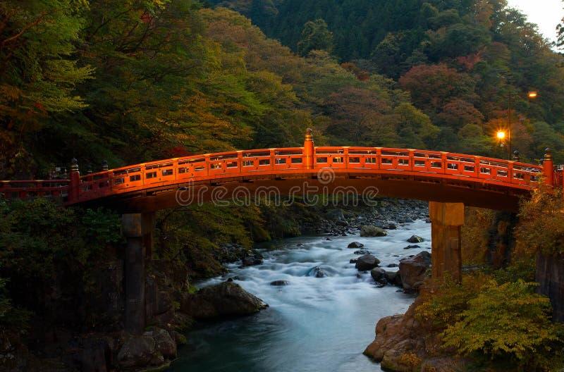 Download Ponte de Shinkyo imagem de stock. Imagem de vermelho - 29840387