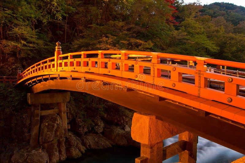 Download Ponte de Shinkyo foto de stock. Imagem de noite, heritage - 29840384