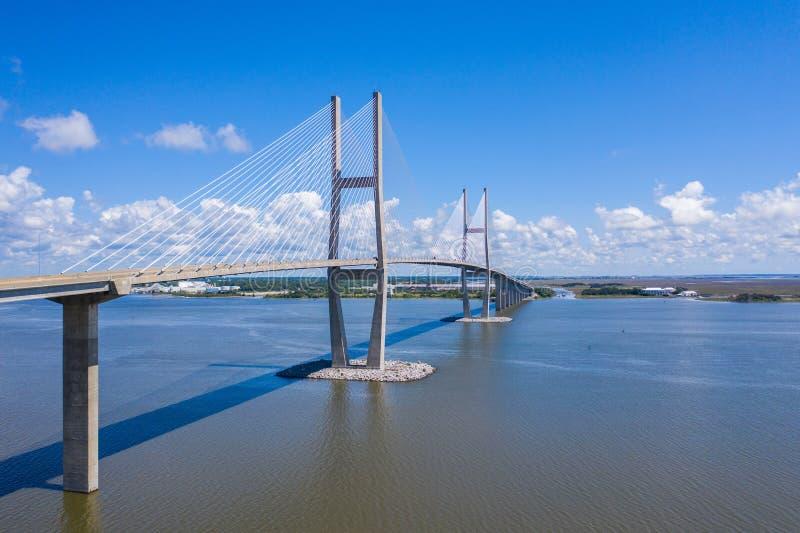 Ponte de Sidney Lanier fotografia de stock