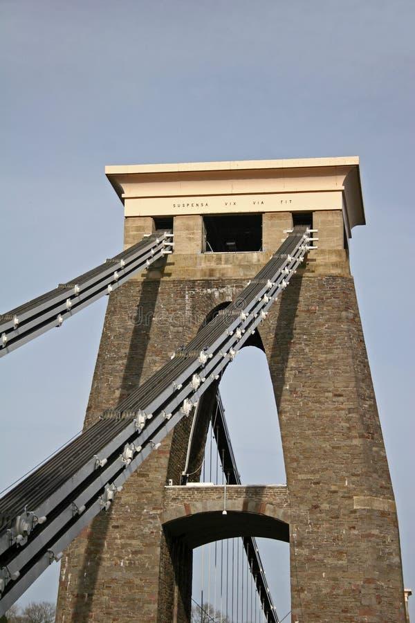 Ponte de suspensão de Clifton imagem de stock