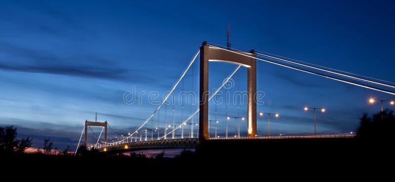Ponte de suspensão de Gothenburg imagem de stock royalty free
